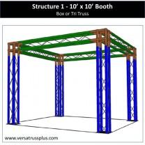 10 x 10 trade show booth ten by ten