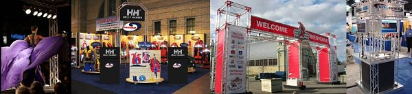 Truss Trade Show Booths and Custom Exhibit and Display Truss