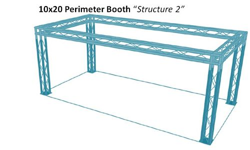 """10x20 Perimeter Booth """"Structure 2"""""""