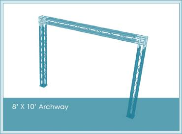 Archways available in any design or configuration