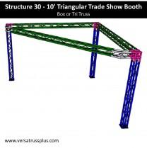 10 Triangular Trade Show Booth