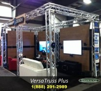 10x20 Trade Show Booths Truss Exhbit Display