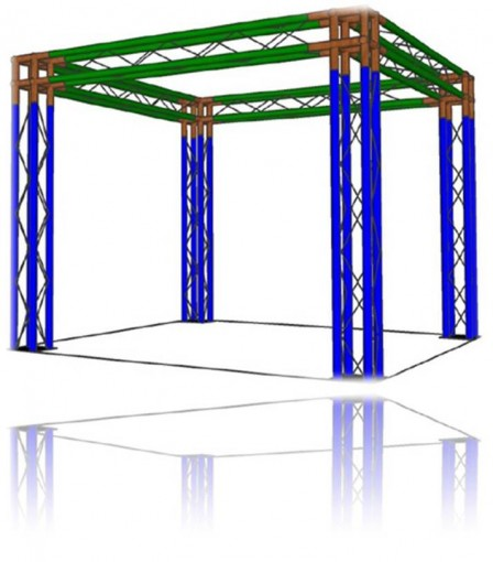 Shop Truss Trade Show Booth and Exhibit Truss Kits