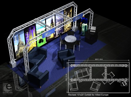 Trade Show Booth 10 x 19