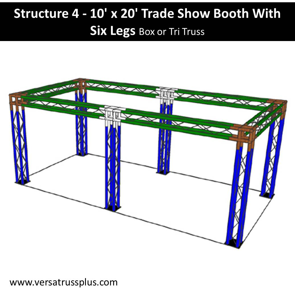 Trade Show Booth 10 x 20-with-six-legs