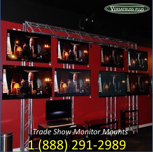 Trade Show Booth Flat Panel Monitor Mounts