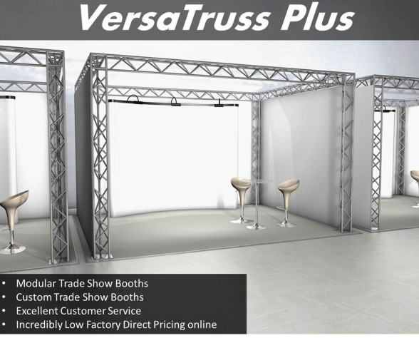 10x10 Aluminum Trade Show Booths