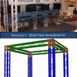 10x10 Trade Show Booth Kits