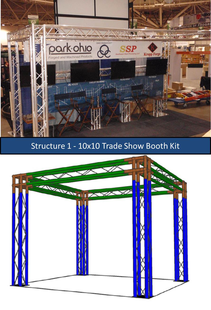 Trade Show Booth Options : Trade show booth kits versatruss plus