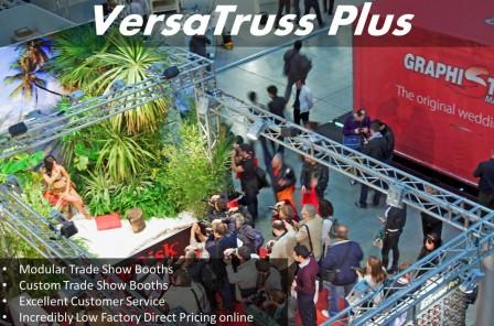 10x10 Truss Trade Show Booths