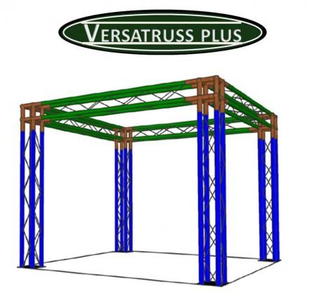 modular displays trade show booth kits aluminum exhibit manufacture versatruss plus