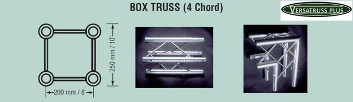 4 cord truss trade show display kits