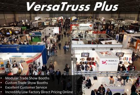 Aluminum Truss Trade Show Exhibit Booths