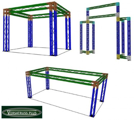 two cord exhibitor display truss