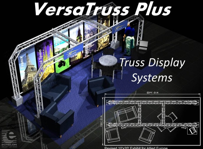 What Are the Advantages to using Modular Truss Trade Show Booths