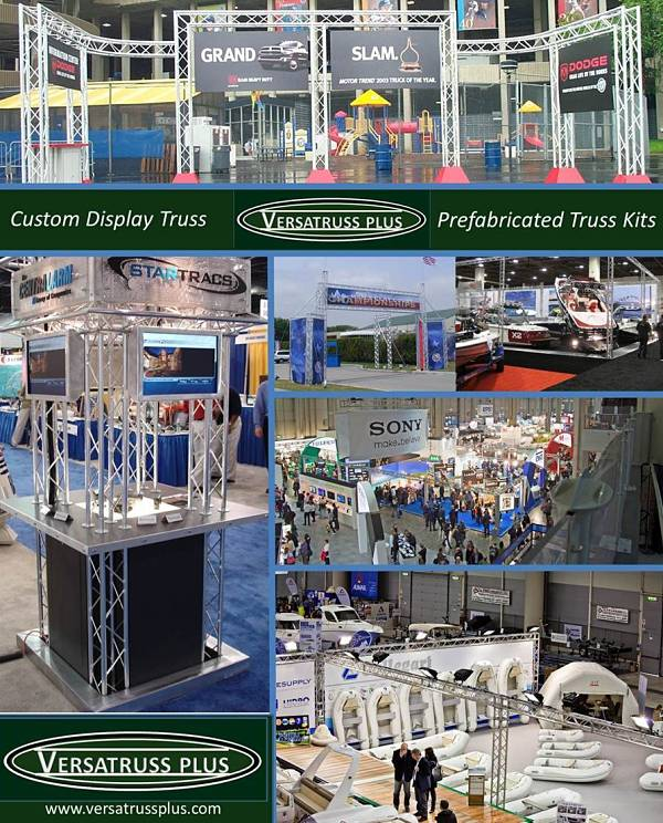 custom display truss exhibitor truss booths