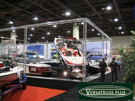 display truss at trade shows