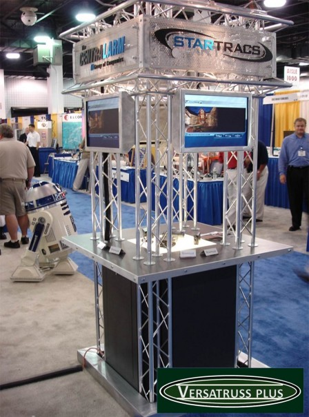 kiosk display truss