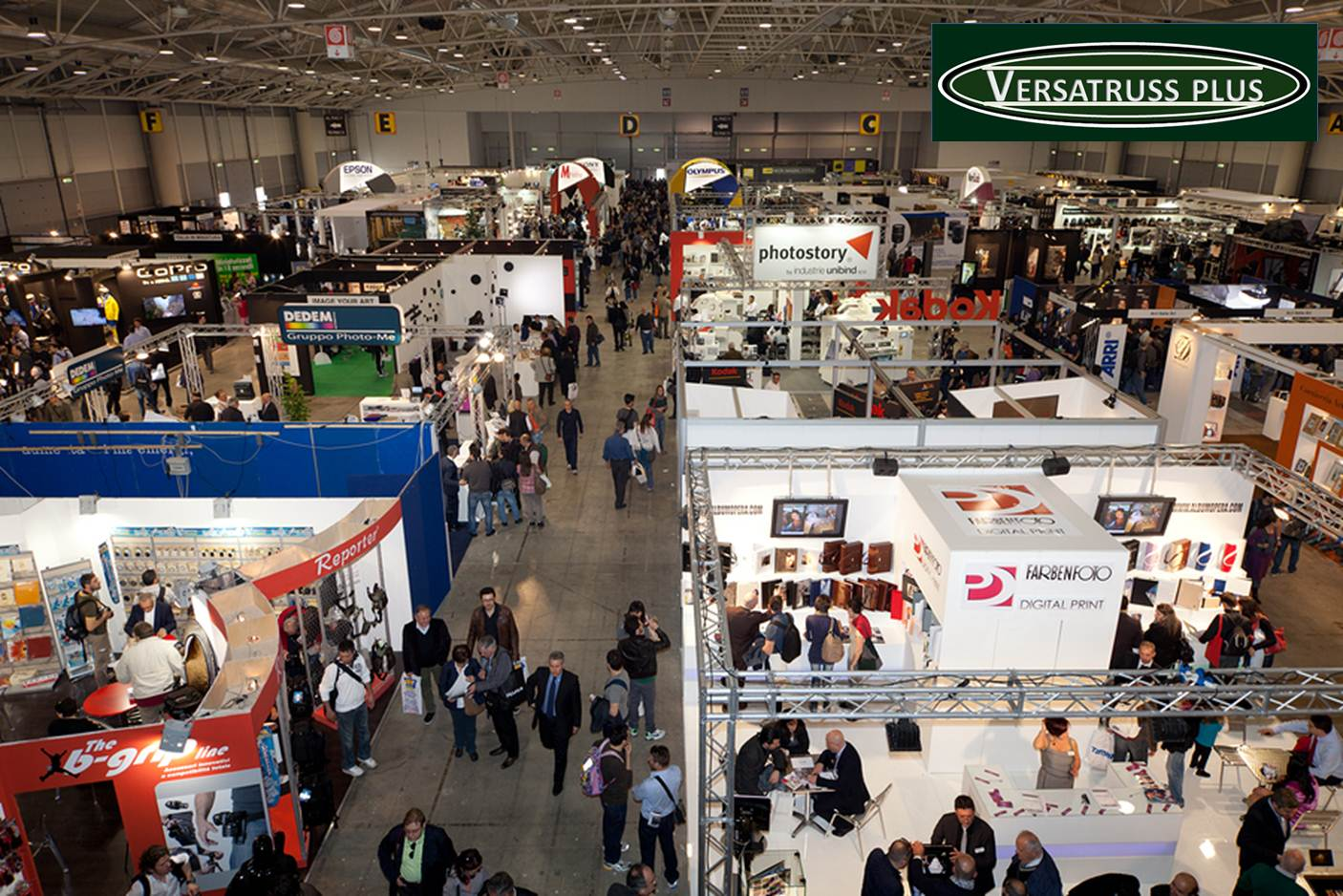 Exhibition Booth Meaning : Exhibit systems versatruss plus