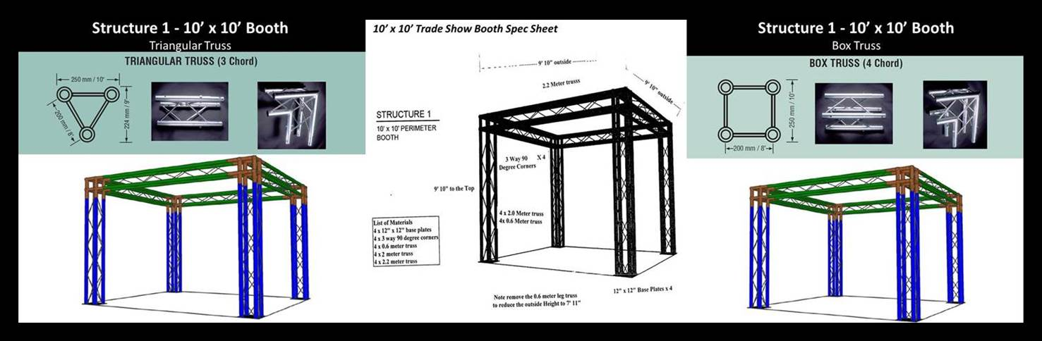 Exhibition Booth Accessories : Display booths for trade shows & modular display systems by versa