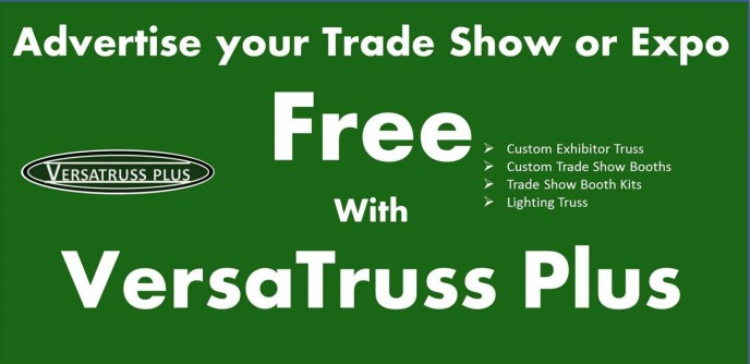 Promote Your Trade Show For Free with VersaTruss Plus