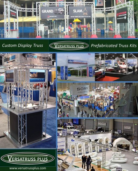 Exhibit Truss – VersaTruss Plus, the Custom Exhibit Truss experts