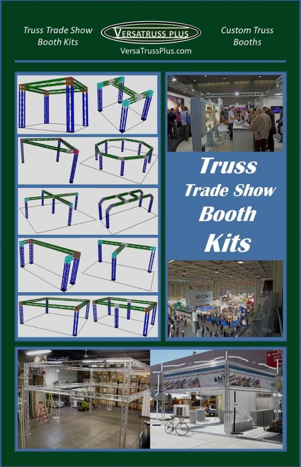 Kits for Truss Trade Show Booths - Trade Show Booth Kits