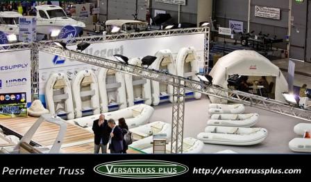 Perimeter Truss Boat Show