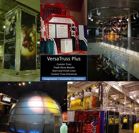 VersaTruss Plus Truss Trade Show Booths