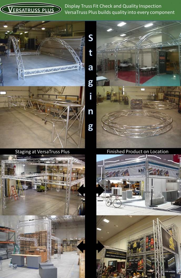 VersaTruss Plus Truss Trade Show Booths Display Truss Quality