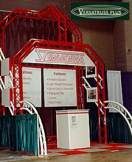 VersaTruss Plus Aluminum truss exhibit truss trade show booths and exhibitor truss