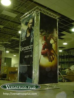 banner stands movie theaters