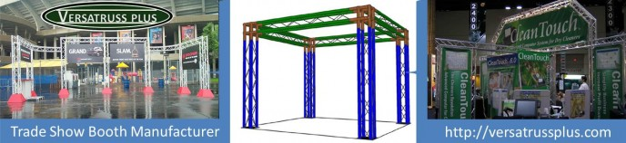 truss trade show booth manufacturer