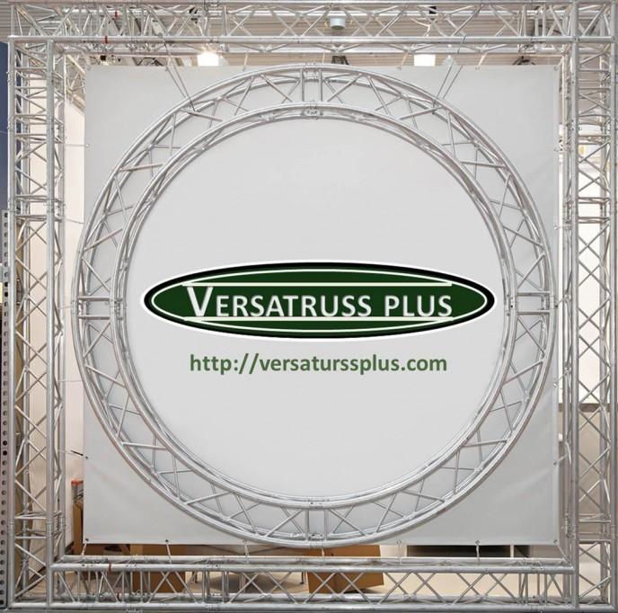 Curved Exhibit Truss Exhibit Truss in Radius or Full Circle Exhibit Truss