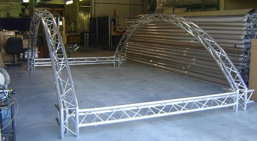 Aluminum Truss Lighting Staging Custom