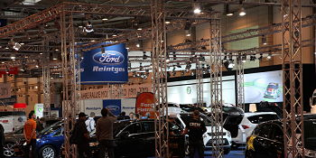 Auto Convention Display Truss