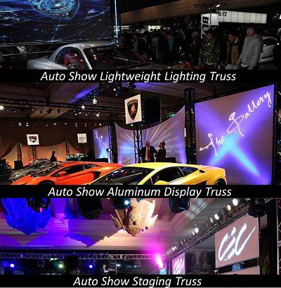 Auto Show Car Show Exhibit Truss Display Truss Lighting Truss