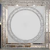 Circular Convention Truss