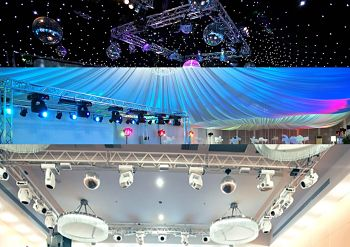 Convention Center Conference Exhibit-Truss-Lighting-Truss-Staging-Truss
