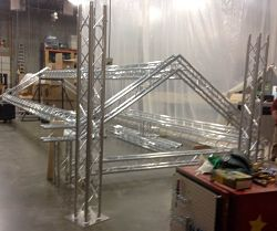 Exhibit Truss Display Truss Structure Kiosk Fabrication