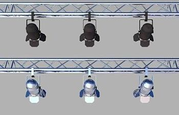 Light Weight Aluminum Truss Lighting Bars
