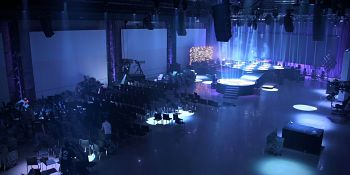 Lighting Truss Convention Center