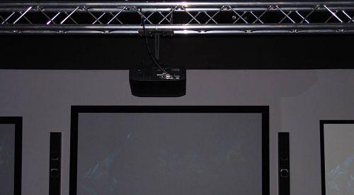Museum Exhibit Truss Audio Visual Equipment