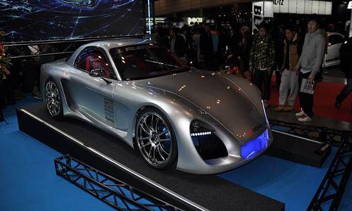 auto show lightweight aluminum truss