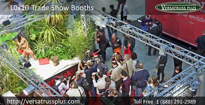 10x10 trade show booths