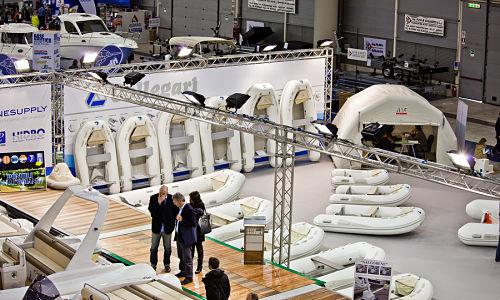 Aluminum trade show booths