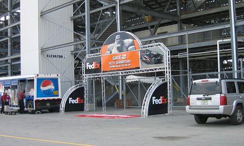 Archway Aluminum Display Truss