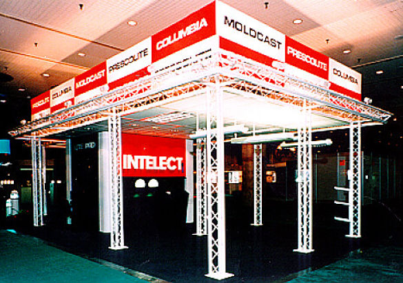 Colored Trade Show Booth Systems