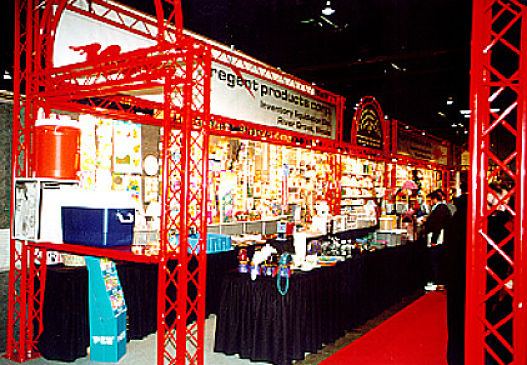 Custom Colored Trade Show Display Booth Systems
