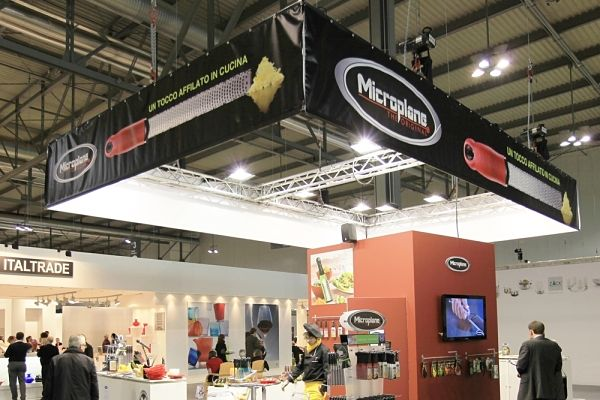 Custom Trade Show Booths Custom Truss Banner Stand Overhead Structure